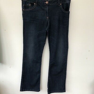next bootcut jeans Ink Blue Lift And Shape UK 18r In Lovely Condition