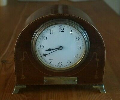 8 Day Clock. 1920's. Good Working Order. French Movement.