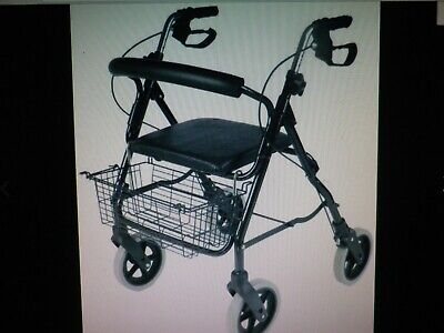 Nrs Mobility Rollator Walking Aid M39634