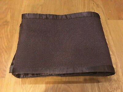 Cot Bumper Protector Breathable Mesh 300cm long Velcro Brown