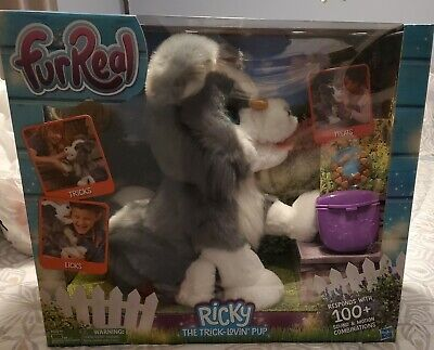 FurReal Ricky The Trick Lovin' Toy Pup: Large size BRAND NEW 100+ Sounds&Motions