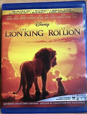 The Lion King 2019 (Blu-ray and Digital Copy)