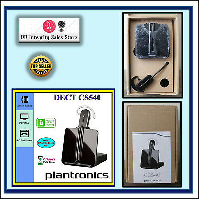 NEW Plantronics CS540 Convertible Wireless DECT Headset 84693-01 TRUSTED SELLER