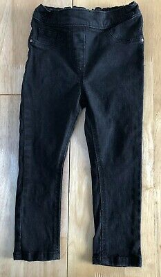 GIRLS BLACK TROUSERS by NEXT - Age 2-3 Years