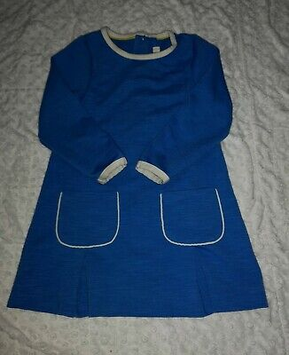Little Bird By Jools Oliver Blue Pocket Dress 18-24 Months