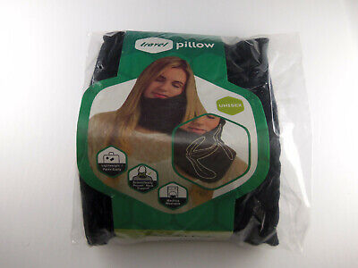 Travel Pillow Travel Neck Pillow Black Machine Washable Light Weight Unisex