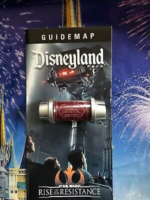 Star Wars: Galaxys Edge RED (or BLACK) Kyber Crystal Disney Sealed NEW New Map