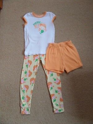 FABULOUS Girl's 3 PIECE Carter's Pyjama Set Age 4 From USA Mermaid Theme