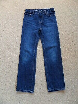 FABULOUS Boy's Original GAP Jeans Age 10 Blue WORN TWICE Straight Leg