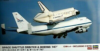 NASA Space Shuttle Orbiter [STS] Boeing 747 Ltd. Ed. Hasegawa Model 1/200 Scale