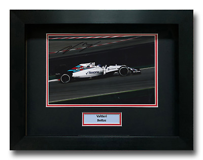 Valtteri Bottas Hand Signed Framed Photo Display - Formula 1 Autograph F1 1.