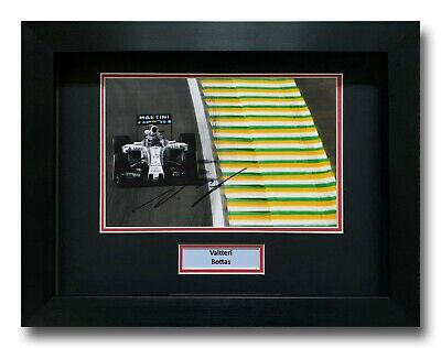 Valtteri Bottas Hand Signed Framed Photo Display - Formula 1 Autograph F1 2.
