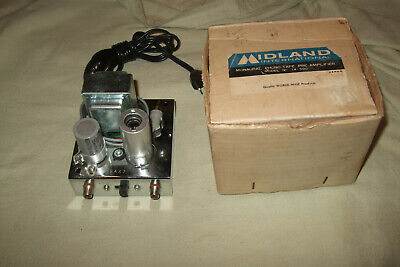 Vintage NOS Midland 14-590 Monaural Phono-Tape Preamplifier 12AX7