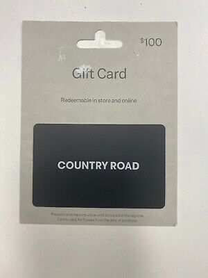 Country Road Gift Card ($100)