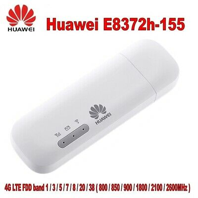 HUAWEI E8372h-155 USB 3.0 4G Wireless Modem Router Stick LTE WiFi Dongle 150Mbps