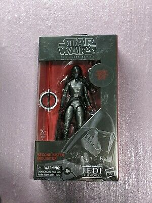 Star Wars Black Series Carbonized Second Sister Inquisitor Game Stop Exclusive