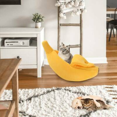 Banana Cat Dog House Soft Warm Puppy Kennel Sleeping Bed House Tent Pet Supplies