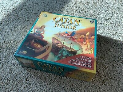 The Settlers of Catan Junior Brand New Factory Sealed For Kids Ages 6+