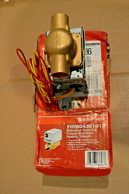 Honeywell Motorized Valve for Closed Hydronic Heating System