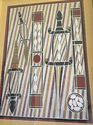 ALBERT DJIWADA. Authentic Aboriginal Art. 100% Original.