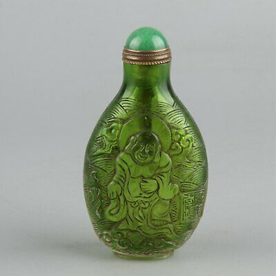 Chinese Exquisite Handmade Glass snuff bottle