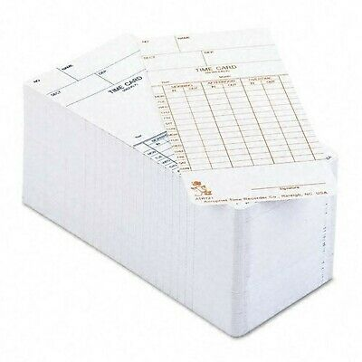 Acroprint ATR121 Weekly/Bi-Weekly Time Cards for the ATR120 Time Clock