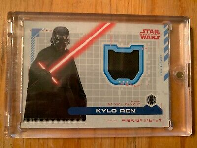 2019 STAR WARS THE RISE OF SKYWALKER COSTUME RELIC KYLO REN. Ships 1/23
