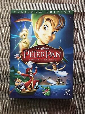 Peter Pan (Platinum Edition) DVD with Slipcase