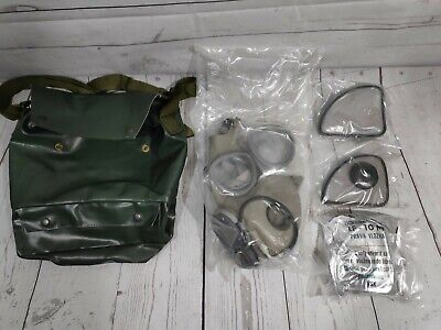 Vitage Military Gas Mask With Bag New Czech Army kit factory sealed