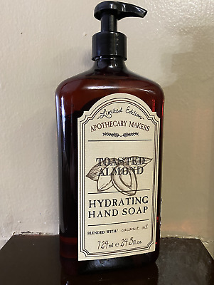 Apothecary Makers Hydrating Hand Soap Limited Edition Toasted Almond