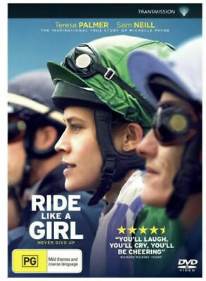 Ride Like A Girl : 2020 : Australian Stock  NEW DVD : *Monday Special*