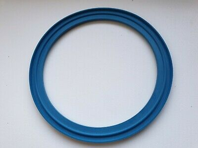 "1.5/"" Sanitary Tri Clamp EPDM Lipped Gasket Blue"
