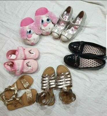 Girls bundles shoes slippers Stompeez slipper shoes & Sandals 13,size.all hardly