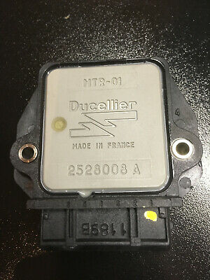Ignition amplifier module Ducellier 2528008 A