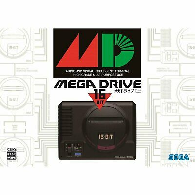 Sega Mega Drive Mini W [Japan Ver] (Genesis) 42 Games Console with Controller