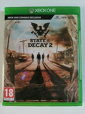 State Of Decay 2 Microsoft Xbox One Zombie Survival Action Horror 18+ Video Game