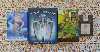 Energy Oracle Cards, Tarot of Dreams, The Druid Craft tarot, The Witch's Brew