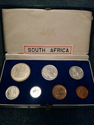 1969 South African 7 Coin Proof Set