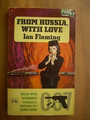 From Russia, with Love by Ian Fleming, 1963 James Bond 007 Pan paperback