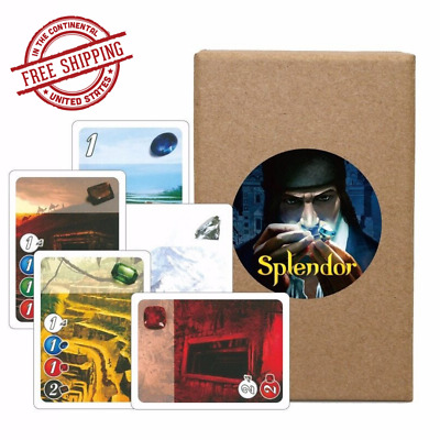 Splendor Board Game English Version Financing Family Playing Cards Fun Party NEW