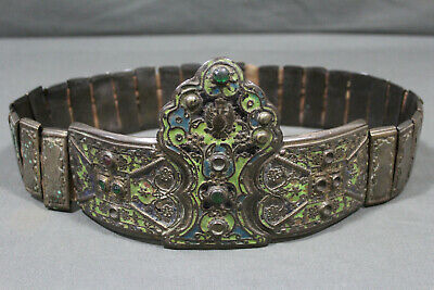 A enameled and gilt belt form Greece - 2nd half 19th century