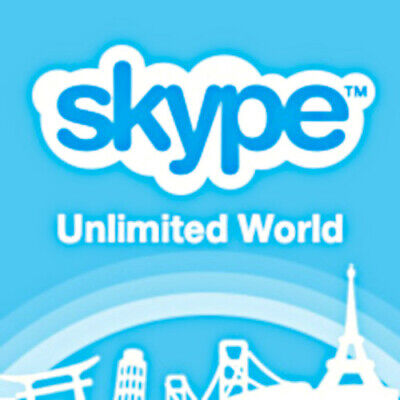 Skype Unlimited World 3 Month Sub, Digital Delivery)