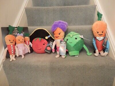 Kevin the carrot 2019 family characters