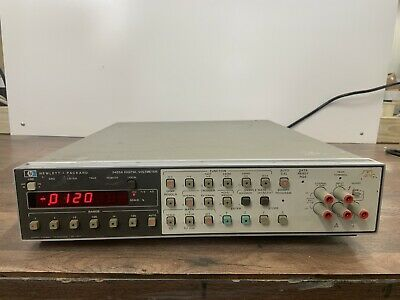 HP Hewlett Packard 3455A Digital Voltmeter, Tested