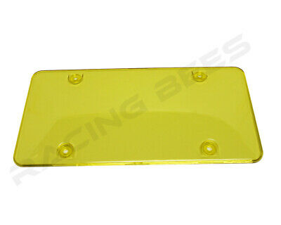 License Plate covers Frame 2pc fit Canada & USA License plate frames yellow