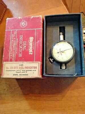 Starrett Dial Indicator 81-211 IN THE BOX