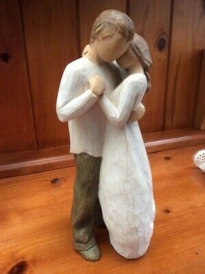 "Willow Tree 'Promise' (26121) Hand Painted Resin 9"" Figurine Used"