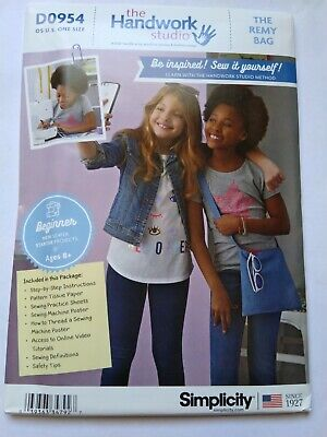 Simplicity sewing pattern 2164 bags