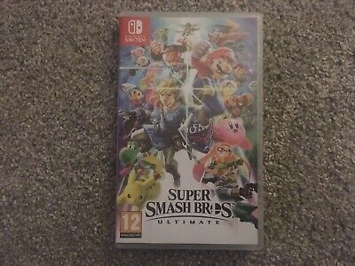 Super Smash Bros Ultimate Game For Nintendo Switch