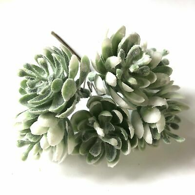 Artificial Succulent Wired Pick - Green (Style 3)